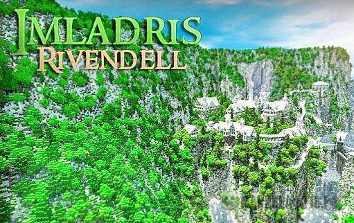 The Valley of Imladris - Rivendell карта
